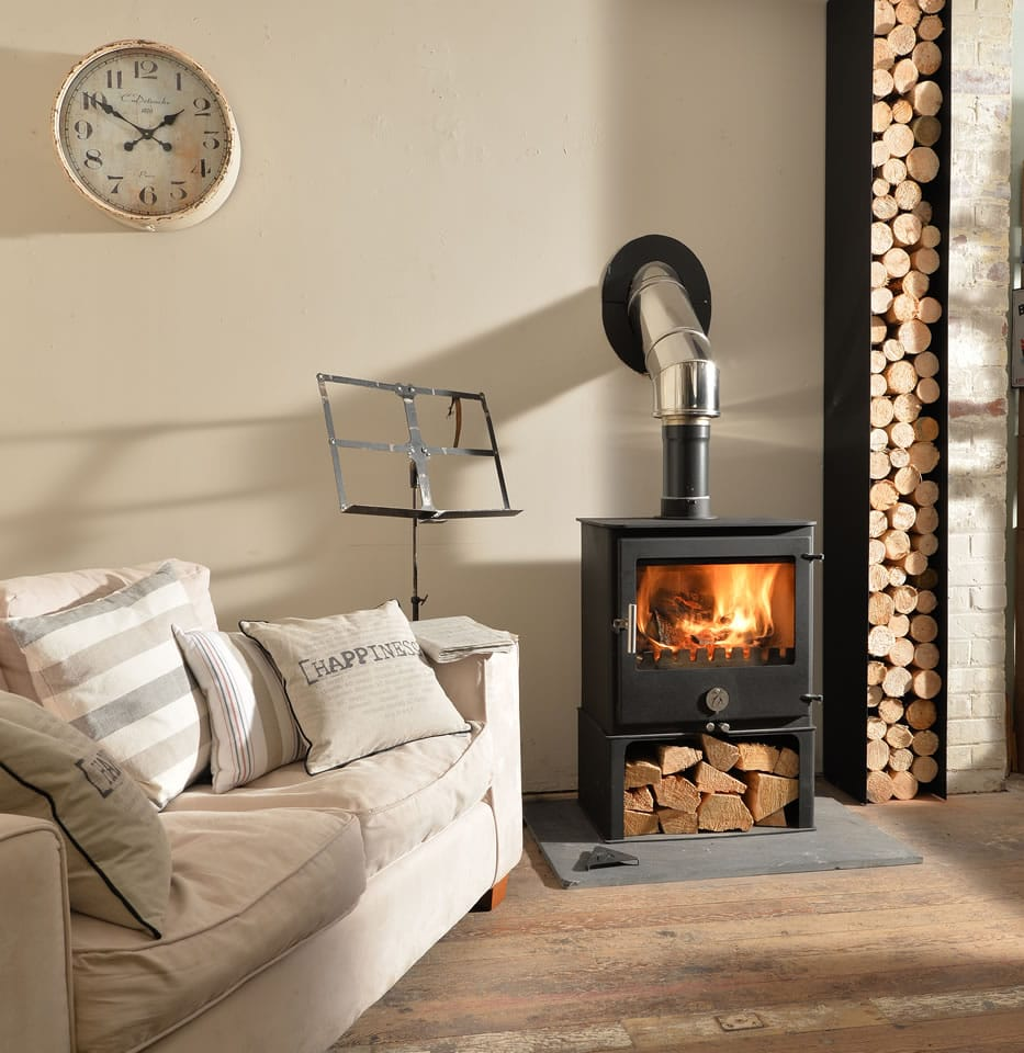 Installing a Stove - Wood Burning - Creating an Energy Saving Home