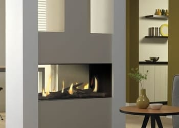 DRU Metro 80XT Tunnel Gas Fire