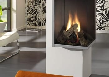 DRU Paco 2 Sided Balanced Flue Gas Fire